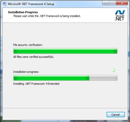 net framework eror 5